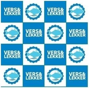 Vis inpakzak hdpe 14/5x50cm Vers&Lekker